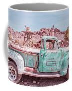 Eldorado Ghost Town Searchlight Nevada Pano Coffee Mug