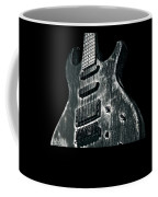 Electric Guitar Musician Player Metal Rock Music Lead Black Coffee Mug