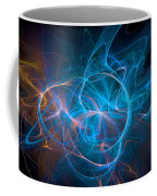 Electric Universe Blue Coffee Mug by Don Northup
