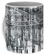 Electrical Substation Coffee Mug by Juan Contreras