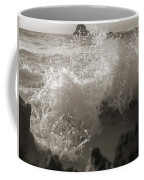 Elegant Coastal Splash Bermuda Coffee Mug