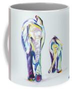 Elephants Side By Side Coffee Mug