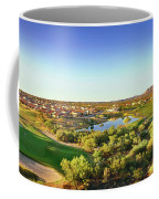 Elevated View Of Golf Course, Sun City Coffee Mug