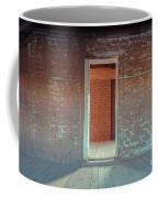 Empty Old Brick House Grafton Ghost Town Coffee Mug