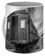 End Of The Line Bw Coffee Mug