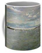 Entering Sunset Marina Coffee Mug