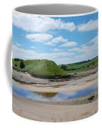 estuary on river Aln at Alnmouth Coffee Mug