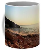 Evening Glow At Porth Nanven Coffee Mug