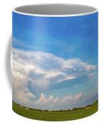 Evening Supercell And Lightning 004 Coffee Mug