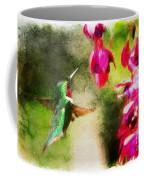 Eye On The Fuchsia Coffee Mug