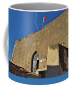Facade Of The Medieval Castle Of Castro Marim Coffee Mug