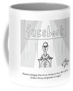 Facebook Doublethink Coffee Mug