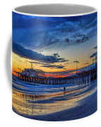 Fading To The Blue Hour - Ferris Wheel Coffee Mug