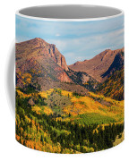 Fall Colors On The North Face Of Pikes Peak Coffee Mug