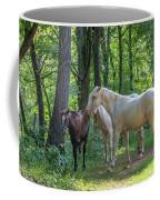Family Of Horses Coffee Mug
