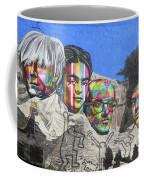 Famous Contemporary Artists Mural Coffee Mug
