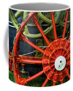 Fancy Tractor Wheel Coffee Mug