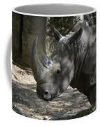Fantastic Profile Of A Rhino With A Long Horn Coffee Mug