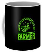Farmer Shirt Worlds Greatest Farmer Gift Tee Coffee Mug