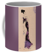 Fashion Woman Portrait Coffee Mug