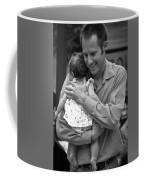 Father And Daughter Coffee Mug by Catherine Sobredo
