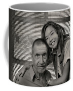 Father And Daughter Coffee Mug by Ron Cline