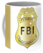 Fbi Badge Coffee Mug
