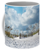 Fences In The Sand Coffee Mug