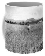 Field Of Wheat Campbell S Plains  Darling Downs Coffee Mug