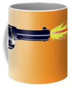 Firing Revolver Coffee Mug