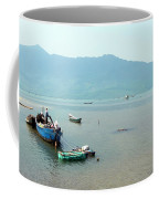 Fisherman In Lang Co, Vietnam Coffee Mug