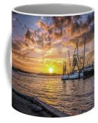 Fishing Boats II Coffee Mug by Tom Singleton