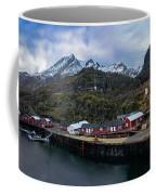 Fishing Village A On Lofoten Coffee Mug