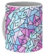 Comfortably Cosmic, In Lavendar Coffee Mug