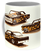 Flamin Chevrolet 66 Nova Coffee Mug
