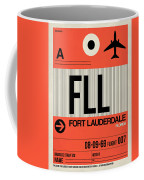 Fll Fort Lauderdale Luggage Tag I Coffee Mug