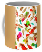 Floating In Colourful Abstract Coffee Mug