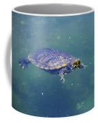 Floating Turtle Coffee Mug