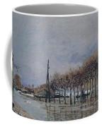 Flood At Port-marly, 1878 Coffee Mug