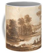 Floodplain With Watering Place  C  Coffee Mug