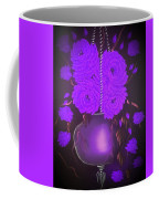 Floral Roses With So Much Passion In Purple  Coffee Mug