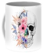 Floral Skull 2 Coffee Mug