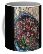 Flower Basket Coffee Mug by Laurie Lundquist