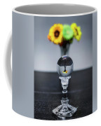 Flowers And Crystal Ball Coffee Mug by Lora J Wilson