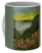 Flowers At Sunrise Coffee Mug