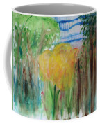 Flowers In A Forest Coffee Mug
