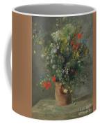 Flowers In A Vase, Circa 1866 Coffee Mug