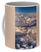 Flying Over The Rocky Mountains Coffee Mug