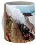 Flying Scotsman On An Evening Run Coffee Mug