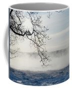 Fog Over The River Coffee Mug